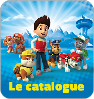 Catalogue Paw Patrol- La Pat'Patrouille