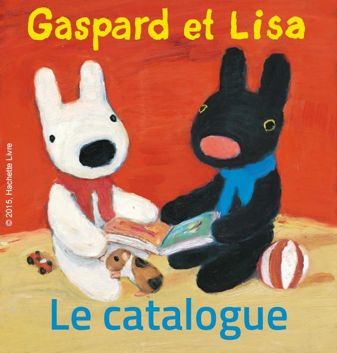 Catalogue Gaspard et Lisa