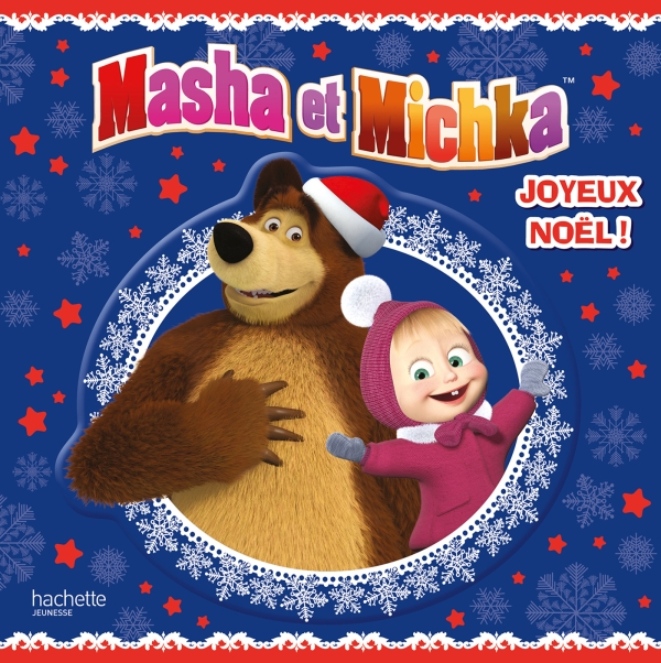Masha Et Michka Tout Carton Joyeux Noel Hachette Jeunesse
