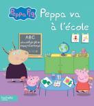 Visuel Peppa va à l'école