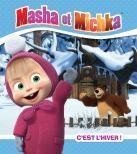 Visuel couverture Masha et Michka - C'est l'hiver !