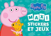 Visuel Maxi Stickers et Jeux - Peppa Pig