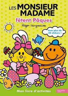 Visuel Monsieur Madame Livre d'activités Joyeuses Pâques
