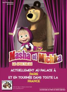 Affiche du spectacle Masha et Michka