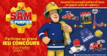 Bannière jeu concours Sam le pompier