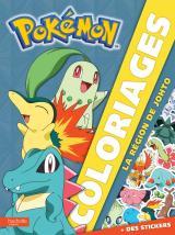 Pokemon/Coloriages - La région de Johto