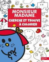 Monsieur Madame-Cherche et trouve à colorier