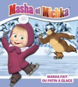 Masha fait du patin à glace