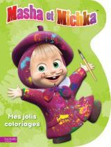 Masha et Michka - Mes jolis coloriages