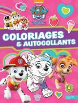 """Paw Patrol-La Pat'Patrouille - Coloriages et autocollants """"spécial filles"""""""