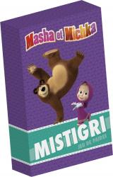 Masha et Michka- Boîte de cartes - Mistigri
