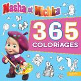 Masha et Michka - 365 coloriages