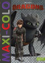 Dreamworks - Dragons-Maxi colo