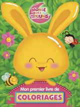Titounis - Mon premier livre de coloriages