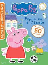 Peppa Pig-Décors et autocollants -L'école