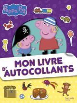 Peppa Pig - Mon livre d'autocollants
