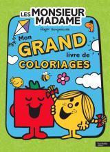 Monsieur Madame-Mon grand livre de coloriages