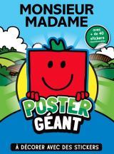 Monsieur Madame - Poster géant à décorer
