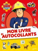 Sam le Pompier - Mon livre d'autocollants