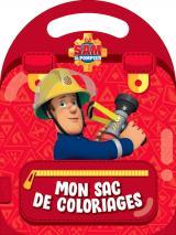 Sam le Pompier- Mon sac de coloriages (Colo à poignée)