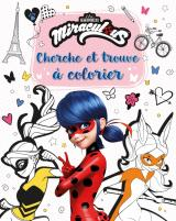 Miraculous - Cherche et trouve à colorier