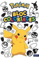 Pokémon - Bloc de coloriages