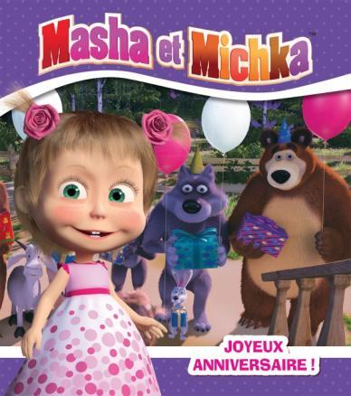 Masha et Michka - Joyeux anniversaire (RC)