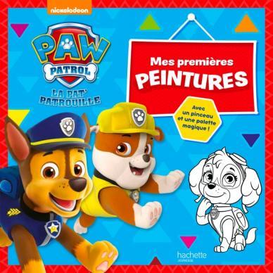 Paw Patrol-La Pat'Patrouille - Mes premières peintures