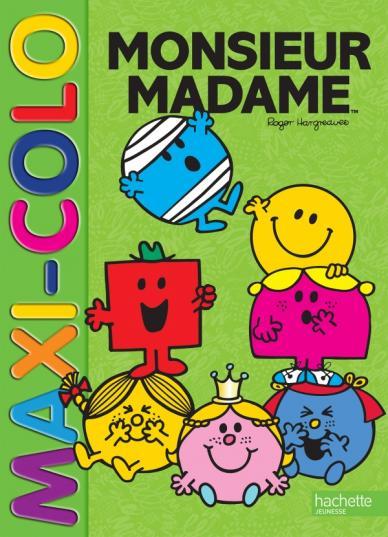 Monsieur Madame - Maxi colo
