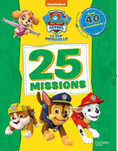 Pat' Patrouille - 25 missions