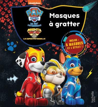 Pat' Patrouille - Masques à gratter Mighty Pups