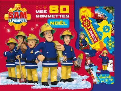 Sam le pompier - 80 gommettes de Noël