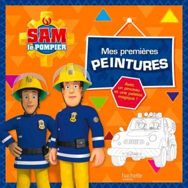 Sam le pompier - Mes premières peintures