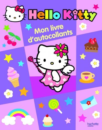 MON LIVRE D AUTOCOLLANTS HELLO KITTY