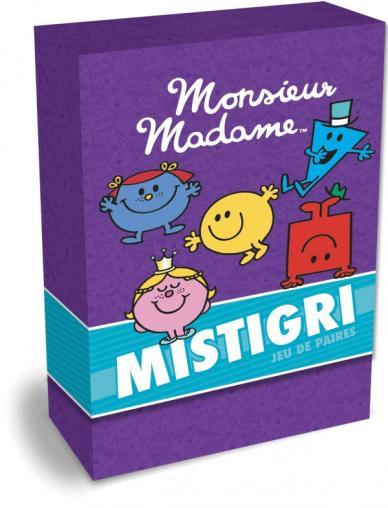 Monsieur Madame - Boîte de cartes - Mistigri