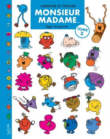 Monsieur Madame - Cherche et Trouve n°3