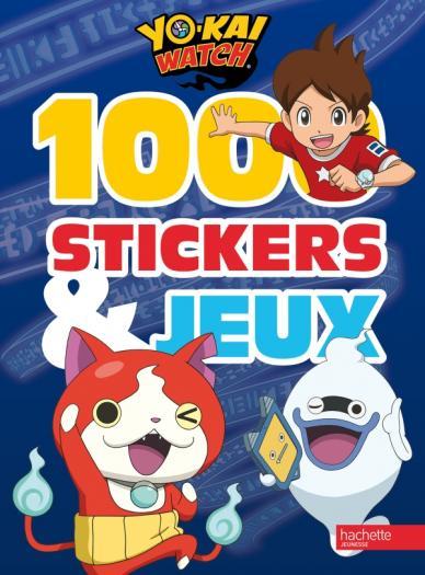 Yokaï Watch - 1000 stickers et jeux