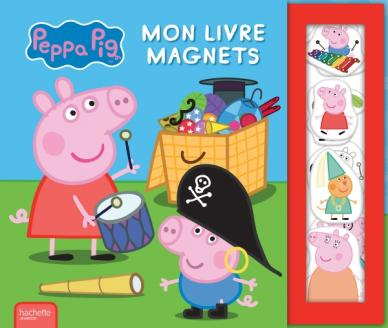 Peppa Pig - livre magnets