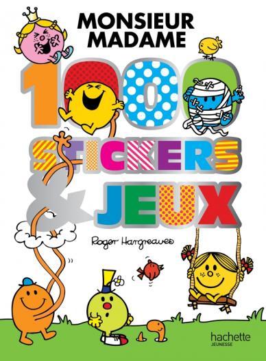 Monsieur Madame - 1000 stickers et jeux