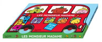 Monsieur Madame / Le bus des Monsieur Madame - Coffret 3 livres + 3 CD