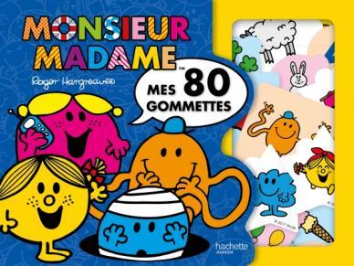 Monsieur Madame - Mes 80 gommettes