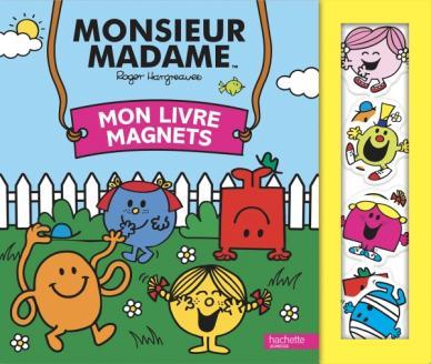 Monsieur Madame - Mon livre magnets