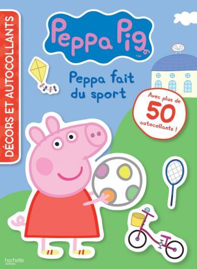 Peppa Pig - Décors et autocollants - Sport