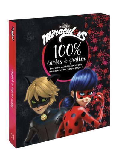 Miraculous - Mon coffret 100% cartes à gratter