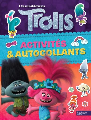 Dreamworks - Trolls - Activités et autocollants