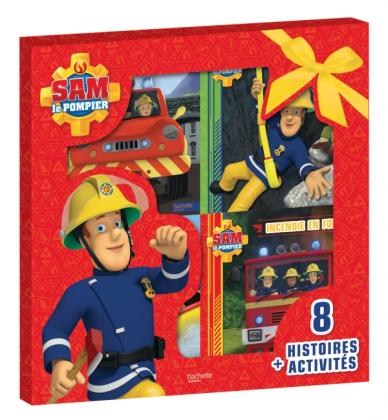 sam le pompier coffret 8 histoires activit s. Black Bedroom Furniture Sets. Home Design Ideas