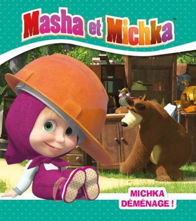Masha et Michka - Michka déménage