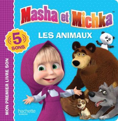 Masha et Michka - Livre son - Les animaux