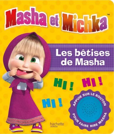 Masha et Michka - Livre son Les bêtises de Masha