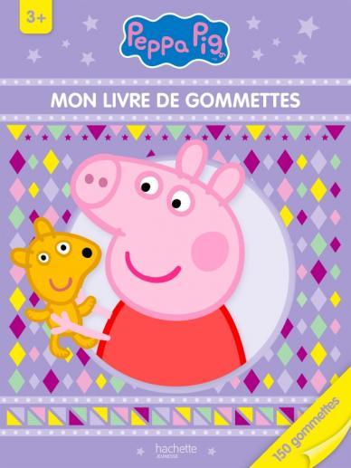 Peppa Pig - Mon livre de gommettes 3+